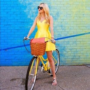 ♠️ Kate Spade ♠️ jolt of citron dress sz 6